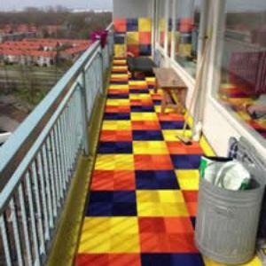 Ribdeck® balkon vloer